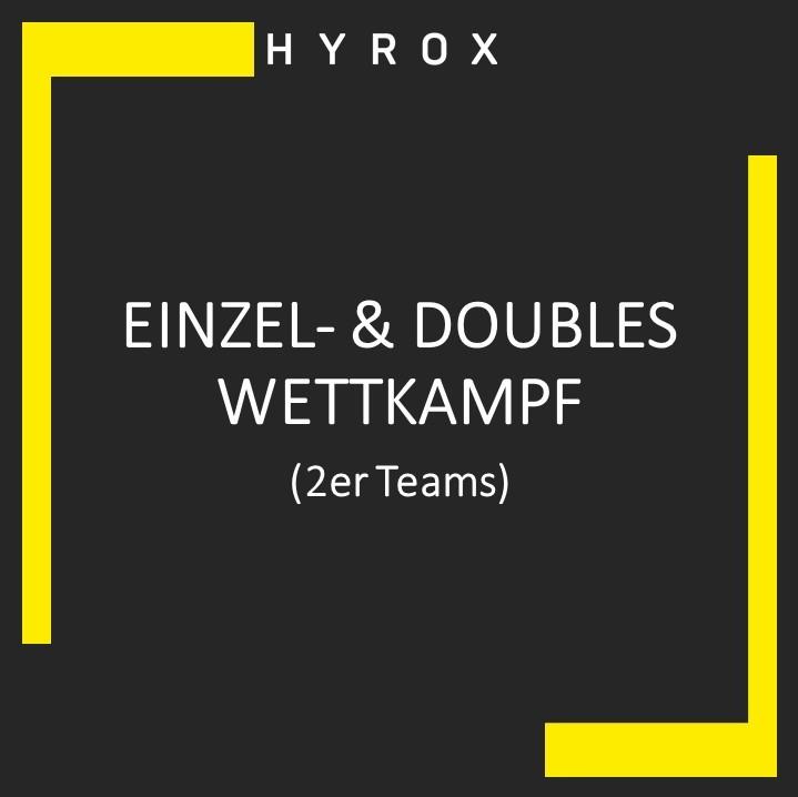 Einzel- & Doubles Wettkampf